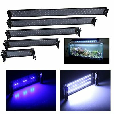 30-118cm Aquarium Fish tank aquarium lampe lumière led bleu/blanc XI 03