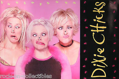Dixie Chicks 1999 Fly 2-Sided Original Promo Poster