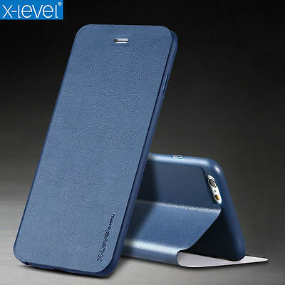 Luxury Slim Leather Flip Wallet Stand Case Cover Skin For Apple iPhone 7/ 7 Plus