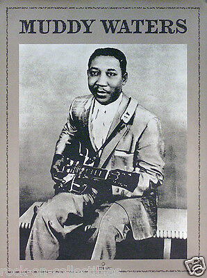 Muddy Waters 2000 Golden Anniversary Collection Poster Original