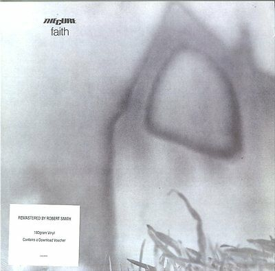 The Cure Faith Vinile Lp 180 Grammi + Voucher Nuovo Sigillato !