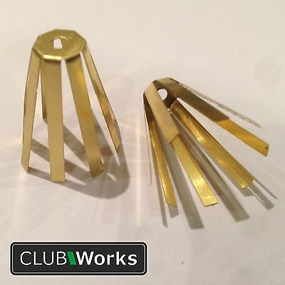 "Golf club brass adaptor shim - For a .355"" shaft into .370"" head"