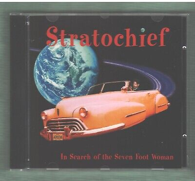 STRATOCHIEF In Search Of The Seven Foot Woman CD 2002 Brand New Alt Country