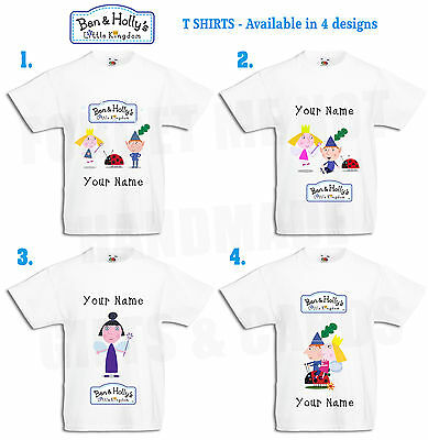 Ben and Holly/'s birthday t.shirt-Personalised Birthday shirt-kids birthday shirt