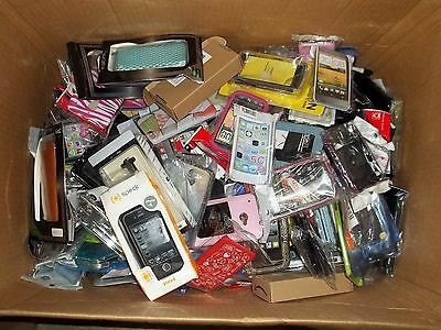 Bulk Wholesale lot of 50 Various Mixed Cell Phone Cases - New - FREE SHIPPING!!