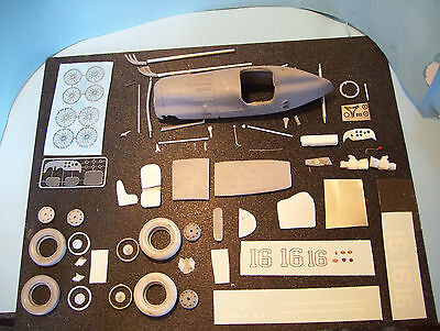 1/25 SCALE Resin 1946 indy Winner THORNE ENG. SPL.  Photo Etched PARTS