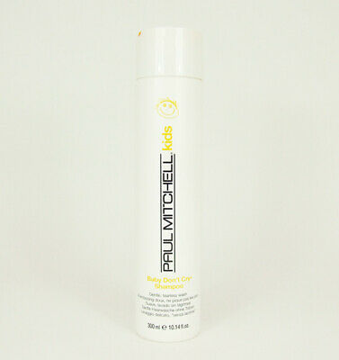 Paul Mitchell Kids Baby Don't Cry Shampoo 10.14 oz Gentle Tearless Cleanse Scalp