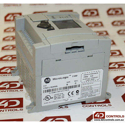 Allen Bradley 1763-L16AWA MicroLogix 1100 Controller - New Surplus Sealed - S...