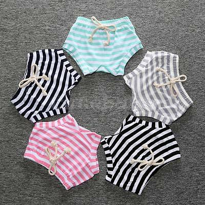 Baby Boy Girl Toddler Bloomer Shorts Bottoms PP Diaper Nappy Cover Panties 6M-4Y