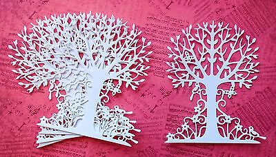 New - Tutti Tree of Life Die Cuts - White (pack of 5)