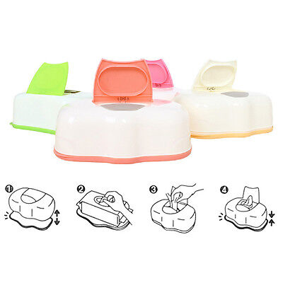 New Baby Wipes Travel Case Wet Kids Box Changing Dispenser Home Use Storage Box