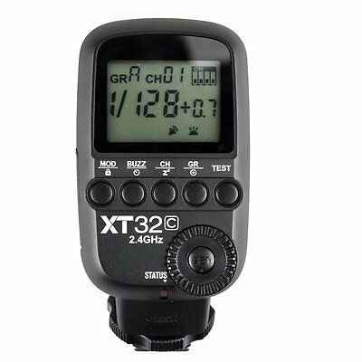 UK Godox XT32C HSS Build-in 2.4G Wireless Control Transmitter for Canon Cameras