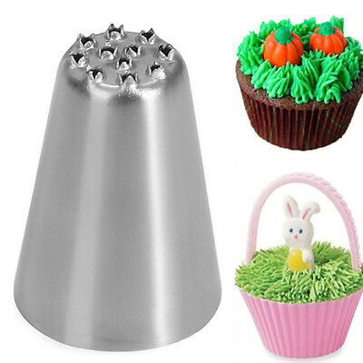 Russian Tulip Icing Piping Nozzle Cupcake Decorating Rose Pastry Tips Tool XMAS
