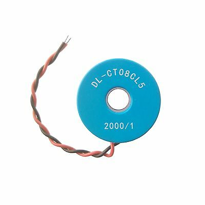 2 PCS DL-CT08CL5-20A/10mA 2000/1 0~120A Micro Current Transformer