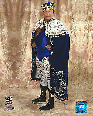 WWE 8x10 Official Promo Photo Jerry The King Lawler 2014