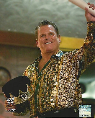 WWE 8x10 Official Promo Photo Jerry The King Lawler 2009