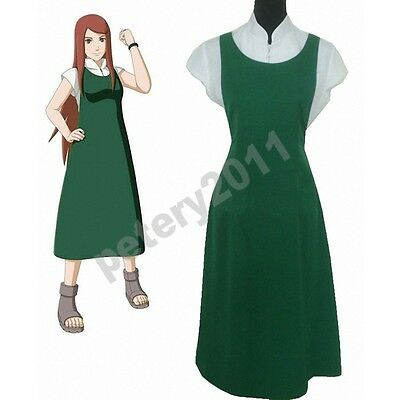 Custom-made Naruto Shippuden Naruto Mother Uzumaki Kushina Cosplay Costume