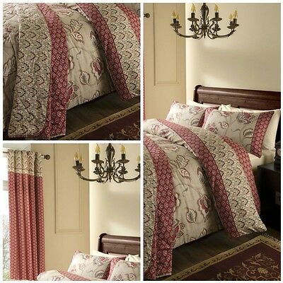 Kashmir 200 Thread Count Duvet Cover Bedding Set By Catherine Lansfield