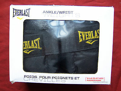 Everlast 5LB ANKLE/WRIST WEIGHT SET, PAIR