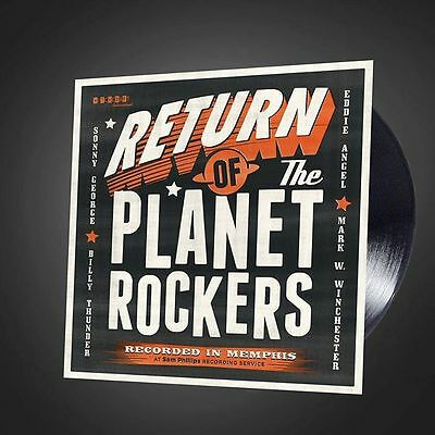 "THE PLANET ROCKERS - THE RETURN OF (New April 2015 VINYL 12"" LP) ROCKABILLY"