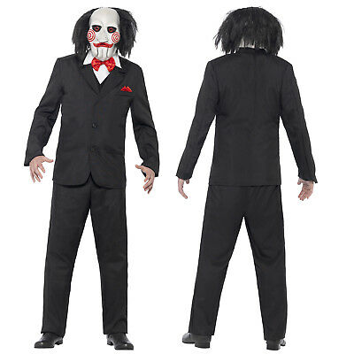 Smiffy's Adults Offically Licensed Saw Jigsaw Halloween Fancy Dress Costume