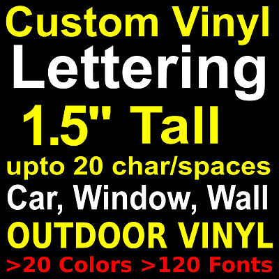 Custom Vinyl LetteringstickerslettersdecalsWallwindow - Letter custom vinyl decals for car