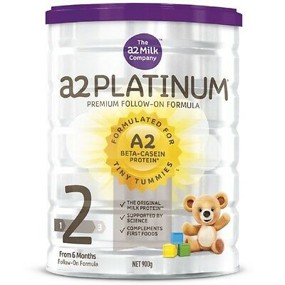 A2 Platinum Infant Formula Stage 2 900G NEW Cincotta Chemist