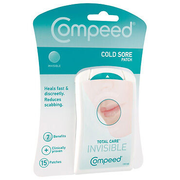 Compeed Cold Sore Patch 15Pk NEW Cincotta Chemist