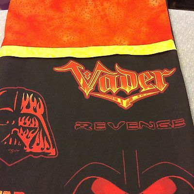 Embroidered Personalized STANDARD Pillowcase Star Wars Vader