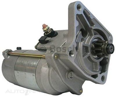 Bosch Starter Motor for FORD COURIER WLAT  4 Cyl Diesel Inj PE, PE, PG, PH, PG,