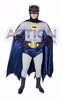 Batman Deluxe Complete Costume 60´s Style with FREE BATARANG