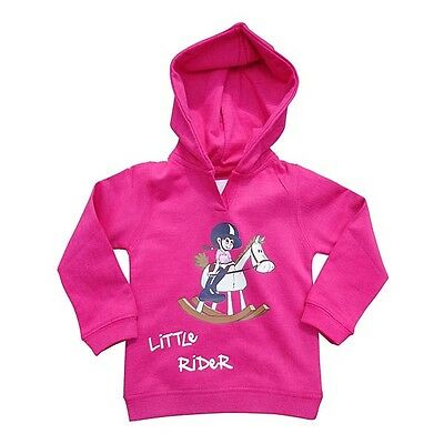 Horses With Attitude Little Rider Hoodie Children kids & Toddlers Blue Or  Pink