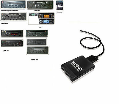 USB SD Adaptateur AUX-IN MP3 Chargeur de CD Renault Scenic 2 II 2003-2008
