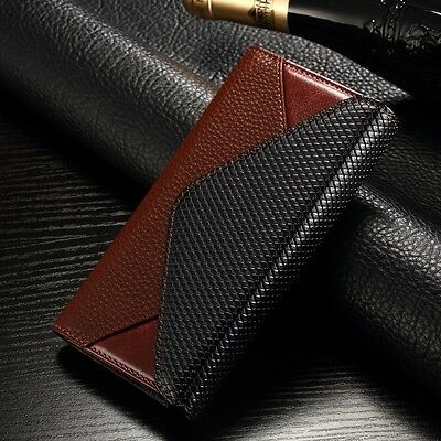 Luxury Leather Magnetic Wallet Card  Flip Case Cover Stand For iPhone 7&7 Plus
