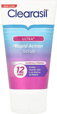 Clearasil Ultra Deep Pore Treatment Scrub (125ml) FREE UK DELIVERY