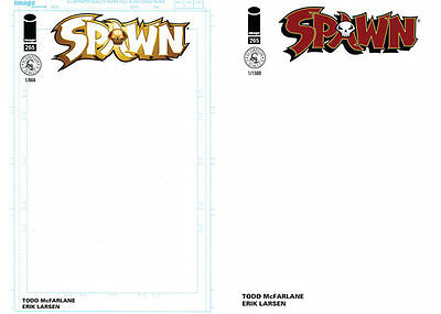 Spawn 265 Red And Gold Sketch Variant Blank Bundle Set Scorpion Comics Rare Hot