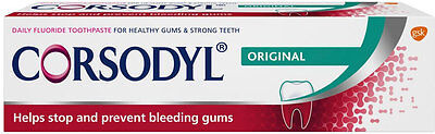 Corsodyl Daily Gum & Tooth Toothpaste (75ml)FREE UK DELIVERY