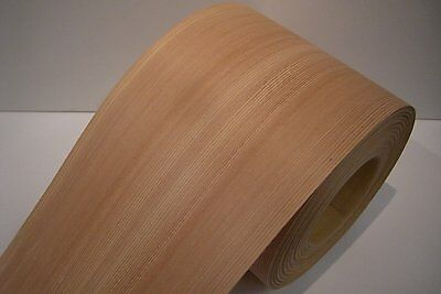 Real wood Veneer Larch with Hot melt adhesive iron-on 30 cm Wide