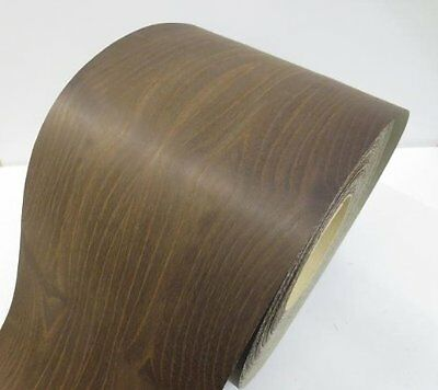 Real wood Veneer Acacia orig. steamed with Hot melt adhesive iron-on 30 cm Bre