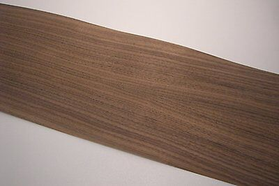 Real wood Veneer Nut tree american with Hot melt adhesive iron-on 210x25 cm