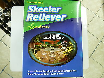 Thermacell Skeeter Reliever Lantern Mosquito Repellent PLUS 3 FREE REFILLS