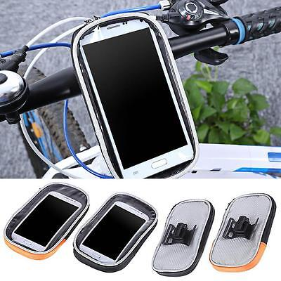 Bike Bicycle Handlebar Cycling Zipper Bag Holder Pouch Case for Mobile Phone GPS