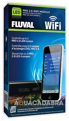 Fluval Led Wifi Controller For Fresh Plant Marine Reef 2.0 Led Aquarium Fish
