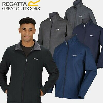 Regatta Cera III Mens Full Zip Softshell Jacket Insulated Water Wind Resistant