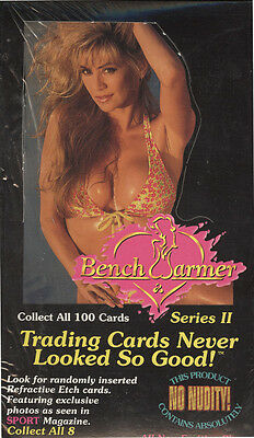 Benchwarmer Sports Trading Cards Box 1994 Sealed/ orig. pack.