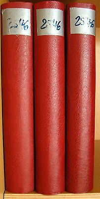 3x Kabe Motivrigbinder Olympia 1980 incl. Pre-printed album pages