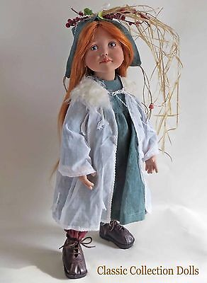 """luithilde"" Junior Doll By Zwergnase- 2004 Collection - 20""- Brand New- In Stock"
