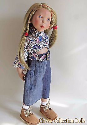 """""""Lola"""" Junior Doll By Zwergnase- 2003 Collection - 20""""- Brand New- In Stock"""