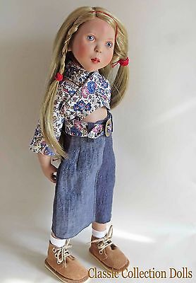 """lola"" Junior Doll By Zwergnase- 2003 Collection - 20""- Brand New- In Stock"