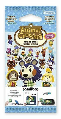 NEW Animal Crossing: Happy Home Designer Amiibo Cards Pack - Series 3 - 1 Pack